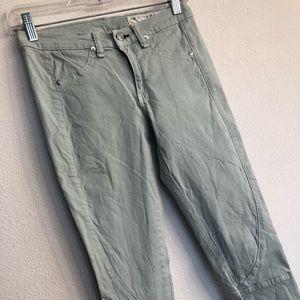 Rag and bone PFD mint skinny stretch jeans 27